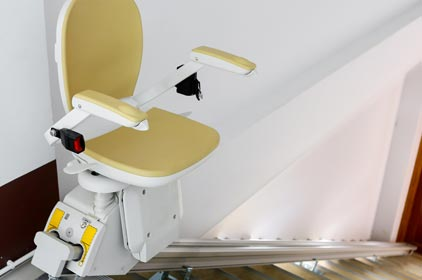 Newport County straight stair lift installation
